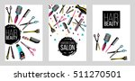 barber shop  haircut   beauty... | Shutterstock .eps vector #511270501