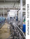 industrial factory indoors and... | Shutterstock . vector #511272385