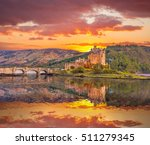 Eilean Donan Castle Against...