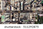 top view aerial photo of a hong ... | Shutterstock . vector #511292875