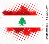 lebanese independence day... | Shutterstock .eps vector #511300294