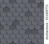 shingles roof seamless pattern. ... | Shutterstock .eps vector #511309771