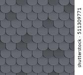 Shingles Roof Seamless Pattern...
