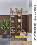 modern interior room with nice...   Shutterstock . vector #511324591