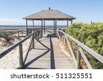 punta candor beach  rota  cadiz ...   Shutterstock . vector #511325551