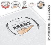 real estate agency. buy  sell... | Shutterstock .eps vector #511328209