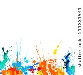 white vector background with... | Shutterstock .eps vector #511331941