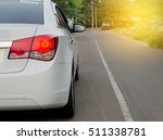 back lights of a car | Shutterstock . vector #511338781