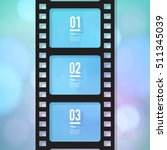 film strip design with your... | Shutterstock .eps vector #511345039