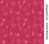 season vector pattern. autumn | Shutterstock .eps vector #511349905