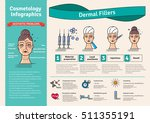 vector illustration set with... | Shutterstock .eps vector #511355191