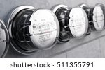 kilowatt hour electric meters ... | Shutterstock . vector #511355791