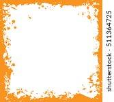 original grunge square vector... | Shutterstock .eps vector #511364725