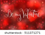 abstract smooth blur red... | Shutterstock . vector #511371271