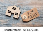 house for rent label | Shutterstock . vector #511372381