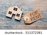 house for rent label | Shutterstock . vector #511372381