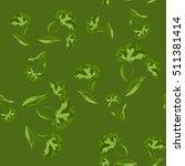 seamless floral pattern....   Shutterstock .eps vector #511381414
