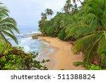 Idyllic Beach At Manzanillo...