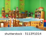 chairs  table and toys.... | Shutterstock . vector #511391014