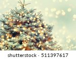 christmas tree. | Shutterstock . vector #511397617