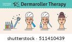 vector illustrated set with... | Shutterstock .eps vector #511410439