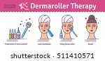 vector illustrated set with... | Shutterstock .eps vector #511410571