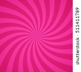 swirling radial bright pink... | Shutterstock .eps vector #511411789