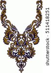 hungarian folk art | Shutterstock .eps vector #511418251