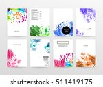 set of hand drawn universal... | Shutterstock .eps vector #511419175