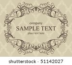 decorative vector background... | Shutterstock .eps vector #51142027
