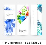 set of hand drawn universal... | Shutterstock .eps vector #511423531