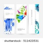 set of hand drawn universal... | Shutterstock .eps vector #511423531