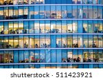 people working at office... | Shutterstock . vector #511423921