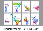 set of hand drawn universal... | Shutterstock .eps vector #511433089
