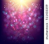 blue festive christmas elegant... | Shutterstock .eps vector #511433359