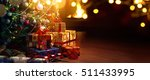 christmas tree and holidays... | Shutterstock . vector #511433995