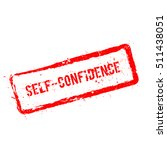 self confidence red rubber... | Shutterstock .eps vector #511438051