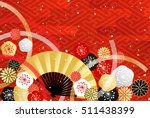 background of japanese style... | Shutterstock .eps vector #511438399