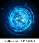 light motion circles. swirl...   Shutterstock .eps vector #511442071
