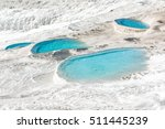 Turquoise Pools And White...