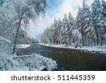 beautiful mountain landscape... | Shutterstock . vector #511445359
