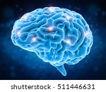 brain power concept with 3d... | Shutterstock . vector #511446631