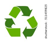 green arrows recycle eco symbol ... | Shutterstock .eps vector #511459825