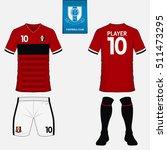 set of soccer kit or football... | Shutterstock .eps vector #511473295