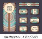 business cards  invitations and ... | Shutterstock .eps vector #511477204