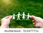 happy family of four people | Shutterstock . vector #511477711