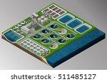 vector isometric illustration... | Shutterstock .eps vector #511485127