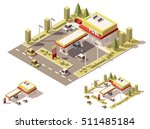 isometric icon set representing ... | Shutterstock .eps vector #511485184