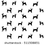 seamless vector background with ... | Shutterstock .eps vector #511508851