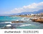 stalida  crete   september 14 ... | Shutterstock . vector #511511191